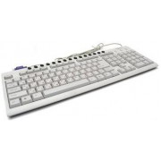 Gembird KB-8300M-R PS/2 White