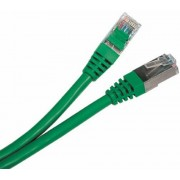 "Patch Cord     1 m, Green, PP12-1M/G, Cat.5E, molded strain relief 50u"" plugs"