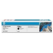 HP #126A Black LaserJet Print Cartridge for HP Color LaserJet CP1025/P1025NW, 1200 pages