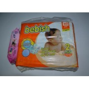 Bebish Mini Twin PackN2 3-6kg(60)+serv.umed.72pcs