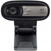 Logitech C170 Webcam, Microphone, 640x480, 5 Mpix images,  USB 2.0