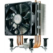 CoolerMaster Hyper TX3 EVO (RR-TX3E-22PK-R1), Socket 1366/1155/775 & FM1/AM3+/AM3, up to 140W, 92х92х25mm, 800-2200rpm, 17-30dBA, 15.7-43.1CFM, 4 pin, PWM, Long Life Sleeve Bearing, 3 Direct Contact Heat Pipes
