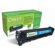 Green2 GT-H-531C-C, HP CC531A Compatible, 2800pages, Cyan: HP Color LaserJet CM2320(fxi)(n)(nf); CP2025(n)(dn)(x)