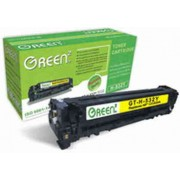Green2 GT-H-532Y-C, HP CC532A Compatible, 2800pages, Yellow: HP Color LaserJet CM2320(fxi)(n)(nf); CP2025(n)(dn)(x)