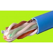 Cable UTP Cat.6, 23awg  COPPER, 305M/CTN grey color APC carton packing