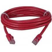 "Patch Cord     0.5m, Red, PP12-0.5M/R, Cat.5E, molded strain relief 50u"" plugs"