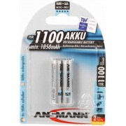 Battery Ansmann AAA, (HR03), 1.2V/1100mAH  (5035222) 2 pack