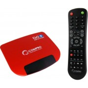 COMPRO VideoMate S700 Satellite TV Box, Stereo, MPEG-1/2/4, TimeShift, w/Remote Control, USB2.0