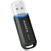 16 Gb USB2.0 Flash Drive ADATA, Classic C906, glossy-black  (Read-18MB/s, Write-5MB/s), ExtremelyCompact