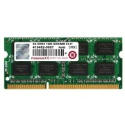 4GB DDR3 1600MHz SODIMM 204pin Transcend PC12800, CL11