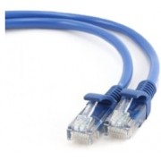 "Patch Cord     0.25m, Blue, PP12-0.25M/B, Cat.5E, molded strain relief 50u"" plugs"