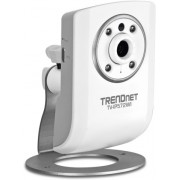 TRENDnet TV-IP572WI, Megapixel Wireless N Day/Night Internet Camera, 2.4GHz, 802.11n/g/b, Indoor night vision of up to 7.5m, 2-way audio, 1280x800 @30fps, H.264/MPEG-4/MJPEG, MicroSD card slot, 1x10/100 Mbps, wall / ceiling mounting kit