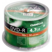 Omega, DVD-R 50*Spindle 4.7GB 16x