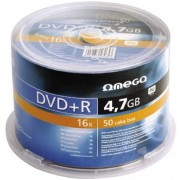 Omega, DVD+R 50*Spindle 4.7GB 16x
