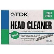 TDK VCL-11 VHS-C/S-VHS-C Head Cleaner