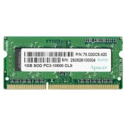 1GB Apacer DDR3,PC10600,1333MHz,CL9