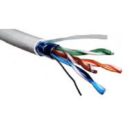 Cable SFTP Cat.5e, 24AWG 4X2X1/0.525, LACU5007-SFTP, copper APC Electronic, 305m