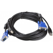 D-Link DKVM-CU3, 2 in 1 USB KVM Cable in 3m