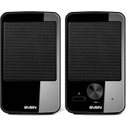 """Speakers  SVEN """"312"""" Black, 4w, USB power -     http://www.sven.fi/ru/catalog/multimedia_2.0/312.htm"""