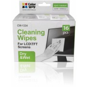 ColorWay CW-1334 Cleaning Wipes Dry/Wet - 16pcs