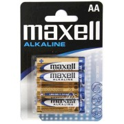 MAXELL Alcaline Battery  LR03/AAA, 4pcs, Blister pack