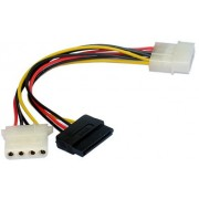 Cable Serial ATA power cable + Molex female to Molex male, CC-SATA-PSY2