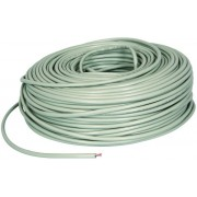 Cable  FTP  Cat.5E, 305m, CCA,24awg 4X2X1/0.52, solid gray, APC Electronic