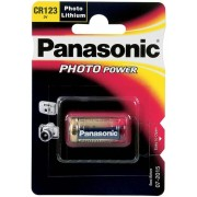 "CR123A  Panasonic ""PHOTO Power"" 3V, LITHIUM, Blister*1, CR-123AL/1BP"