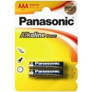 "Panasonic ""ALKALINE Power"" AAA Blister* 2, Alkaline, LR03REB/2BP"
