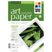 ColorWay Art Snakeskin Glossy Finne Photo Paper, 230g/m2, A4, 10pack