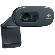 Logitech Webcam C270, Microphone, HD video calling (1280 x 720 pixels), Photos: Up to 3 megapixels (soft. enh.), RightLight, RightSound, USB 2.0