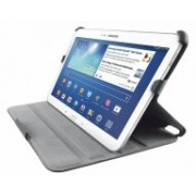"""7"""" Trust tablet folio stand for GalaxyTab 4, Black, 20009 •Professional-styled folio designed to fit multiple brands of 10.1 to 10.2 inch tablets  •Custom mounting system. Step 1: Stabilizing clamps on the left side adjust to best fit your tablet and"