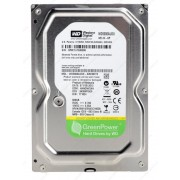 "3.5"" HDD  500GB-SATA-32MB Western Digital ""AV-GP (WD5000AVDS)"""