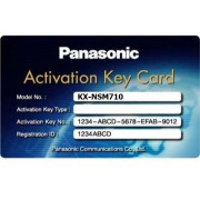 """Accessory PBX Panasonic KX-NCS4508XJ, License 8ch IP-PT Extension Лицензия на 8 системных IP-телефонов, для KX-TDE100/200/600"""