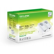TP-Link 500Mbps Powerline Adapter KIT, TL-PA4010PKIT,  With AC Pass