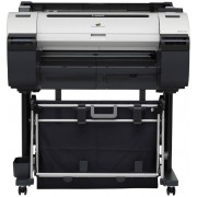 "Plotter Canon imagePROGRAF iPF670, 24""/A1/610mm, 2400x1200 dpi_4pl, 256Mb, Net, print head PF-04, 5 tank: MBK/BK/C/Y, PFI-107 (130ml / starter 90ml), Maintenance Cartr MC-10, 997(W)x698(D)x507(H)mm, 46kg, One roll, front-loading, front output"