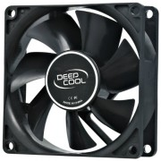 """PC Case Fan Deepcool XFAN80 Black Hydro Bearing For Computer Case Cooling  Fan Dimension :  80?80?25mm  Weight :  82g  Rated Voltage :  12VDC  Operating Voltage :  10.8~13.2VDC  Starting Voltage :  7VDC  Rated Current :  0.08±10%A  Power Input :"