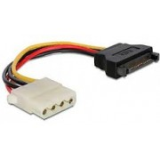 Cable SATA (male) to Molex (female) power cable, 0.15 m, Gembird, CC-SATA-PS-M