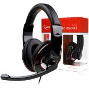 Headset Gembird MHS-U-001, USB, Volume control on cable