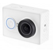 "Xiaomi ""Yi Action Camera"", White, Video Resolutions: up to 1296p 30fps/ 1080p 60fps / 720p 120fps/ 480p 240fps, 155°, Ambrella A7LS, Sensor:16MPx Sony (Exmor R BSI CMOS), Microphone, WiFi, Bluetooth, Battery 1010mAh, up to 100 minutes, 70g"
