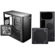 "DEEPCOOL ""WAVE V2"" Micro-ATX Case, without PSU, fully black painted interior, VGA Compatibility: 320mm, support cable management, 3x 2.5"" Drive Bays, 1xUSB3.0, 2xUSB2.0 /Audio, Black"