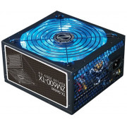 "PSU ZALMAN ""ZM600-TX"", 600W, ATX 2.31, 80 PLUS®, Active PFC, 140mm Quiet Blue LED Fan, Smart Fan Control, Dual Forward Switching,  +12V (53A), 20+4 Pin, 1xEPS(4+4Pin), 5xSATA, 2xPCI-E(6+2pin), 4x Periph., Black"