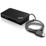 Lenovo ThinkPad OneLink+ Dock ( 4xUSB 3.0, 2xUSB 2.0, Gigabit LAN, VGA, 2xDP1.2, Power,  Audio, Black)