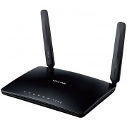 "Wireless 4G LTE Router TP-LINK ""TL-MR6400""Share your 4G LTE network with multiple Wi-Fi devices and enjoy download speeds of up to 150MbpsWireless N speeds of up to 300MbpsIntegrated antennas provide stable wireless connectionsRequires no configuration -"