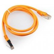 "0.5m, FTP Patch Cord  Orange, PP22-0.5M/O, Cat.5E, Cablexpert, molded strain relief 50u"" plugs-   http://gmb.nl/item.aspx?id=6965"