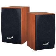 (31731063101) Genius SP-HF160 Wood, 4W RMS, Wooden, Volume control, USB Powered, Wood color