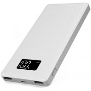 Pineng PNW-963 White, 10000 mAh, LED Digital Display