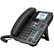 Fanvil X4G Black, VoIP phone, Colour Display, SIP support