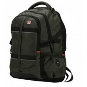"CONTINENT NB backpack 15.6"" - BP-302KH (Schwyzcross), Green, Main Compartment: 38.8 x 26 x 3.7 cm, Dimensions: 49 x 36.5 x 16 cm"