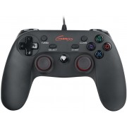 Genesis P65 Gamepad, 8-way controller, 12 buttons, D-Input/X-input modes, Vibration, for PC&PlayStation 3, 1.8m cable, USB 2.0 (accesoriu consola joc joystick gamepad/игровой манипулятор джойстик геймпад)